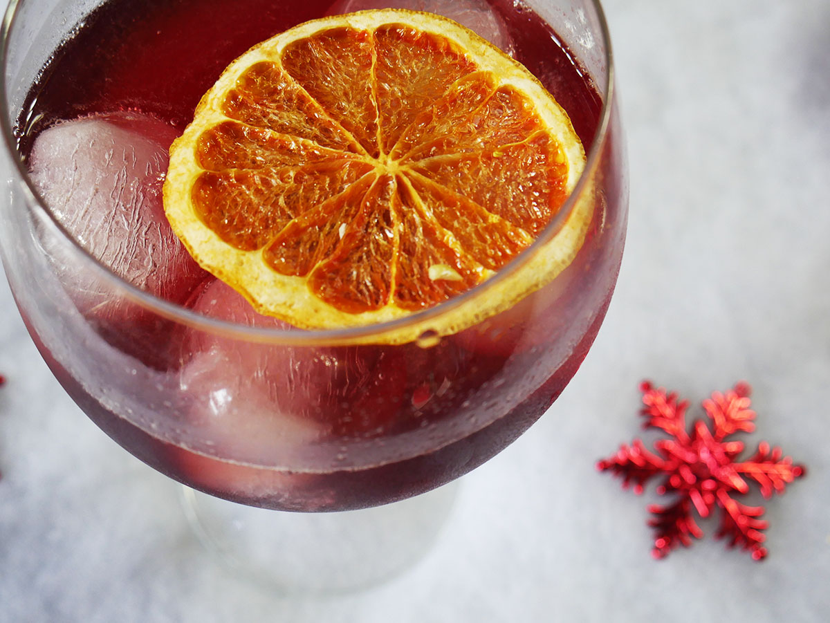 Cherry Rosso Cocktail
